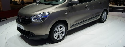 Geneva 2012: Spacious Dacia Lodgy. Image by Headlineauto.co.uk.