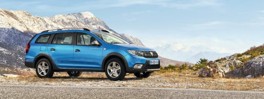 Dacia adds Logan MCV Stepway to family. Image by Dacia.