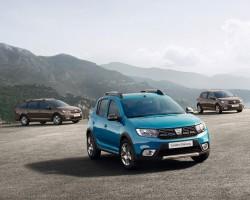 2017 Dacia range. Image by Dacia.