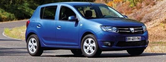 Dacia Sandero is on its way. Image by Dacia.