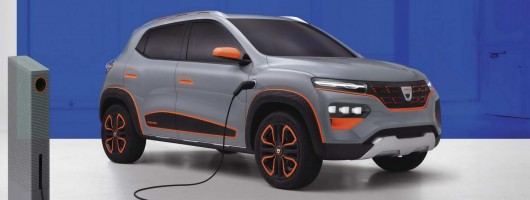 Dacia readies its first electric vehicle. Image by Dacia.