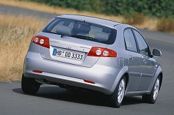 Daewoo Lacetti review. Image by Daewoo.