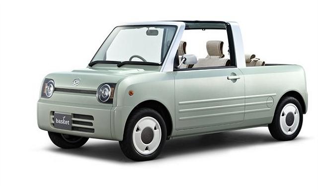Daihatsu thinks small for Tokyo. Image by Daihatsu.