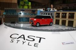 Daihatsu models in Tokyo. Image by Newspress.