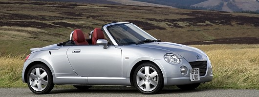 New Daihatsu Copen goes faster for less money. Image by Daihatsu.