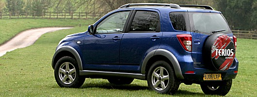daihatsu terios grows up the all new daihatsu terios seems to
