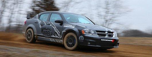 Chrysler returns to rallying. Image by Dodge.