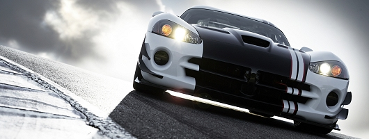 Viper SRT10 racer breaks out. Image by Dodge.