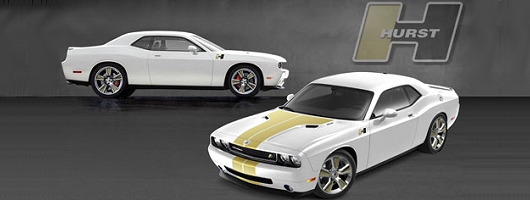 Special edition Challenger to debut in Vegas. Image by Hurst.