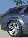 Dodge Magnum SRT8 concept car. Photograph by Dodge. Click here for a larger image.