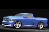 Dodge Rams into SEMA Show. Image by Dodge.