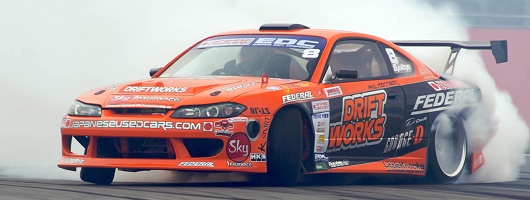 Final UK round of European Drift Championship. Image by Trax.