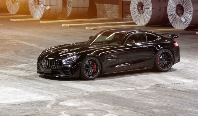 Edo Mercedes-AMG GT R: 660hp of lunacy. Image by Edo Competition.