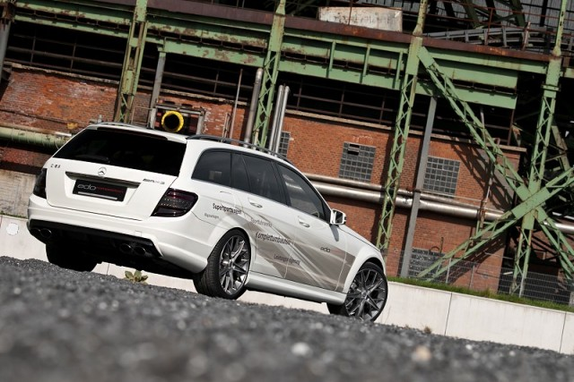New 200mph Merc estate by edo. Image by edo competition.