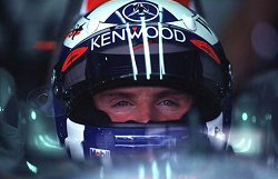 David Coulthard. Image by Eileen Buckley.