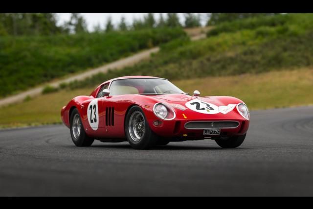 Ferrari breaks auction record. Image by RM Sothebys.