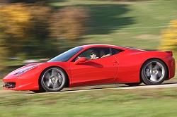 2010 Ferrari 458 Italia. Image by Ferrari.