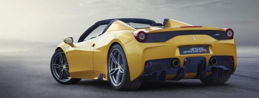 Open-top swansong for Ferrari 458 Speciale. Image by Ferrari.
