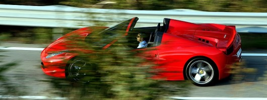 First Drive: Ferrari 458 Spider. Image by Ferrari.