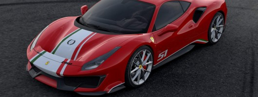 Ferrari honours motorsport with special 488 Pista. Image by Ferrari.