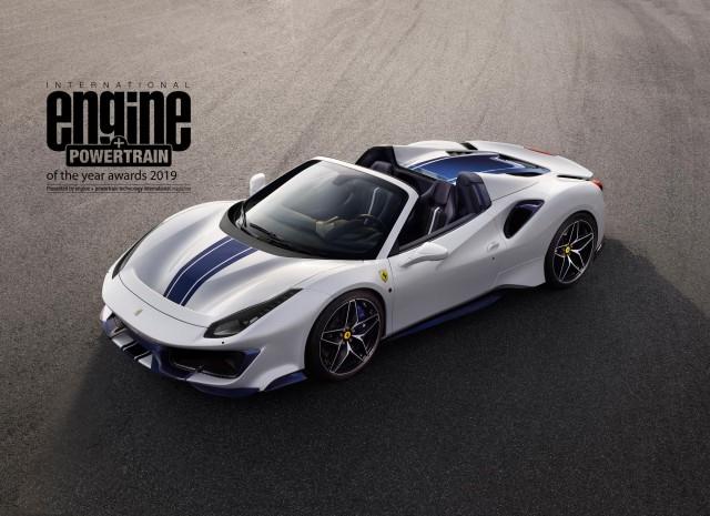 Ferrari retains engine awards crown. Image by Ferrari.