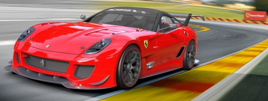 Ferrari 599XX evolves. Image by Ferrari.