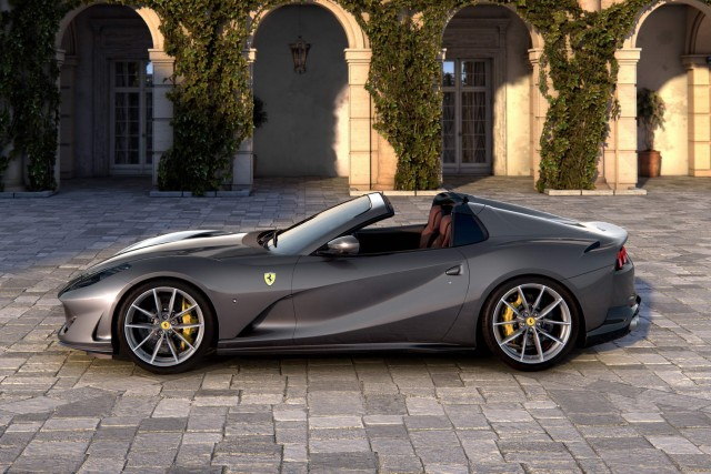 Ferrari unveils 812 GTS. Image by Ferrari.