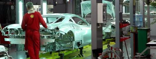 Incoming: Ferrari's aluminium future. Image by Ferrari.
