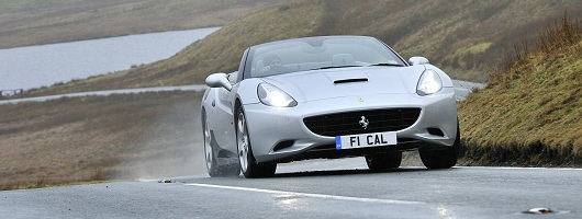 Feature drive: Ferrari California on winter tyres. Image by Max Earey.