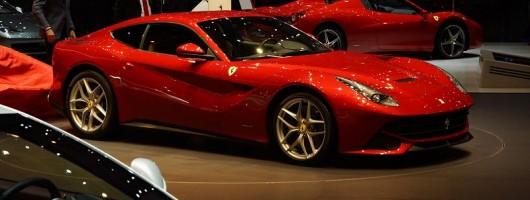 Geneva 2012: Show-stopping Ferrari F12. Image by Newspress.