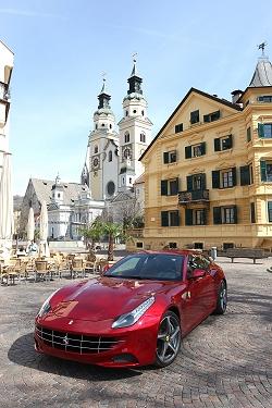 2011 Ferrari FF. Image by Ferrari.