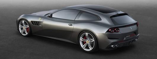GTC4Lusso is the ultimate Ferrari. Image by Ferrari.