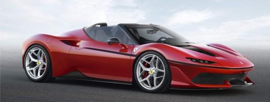 Super-limited Ferrari J50 is Japan-only. Image by Ferrari.