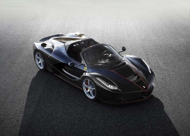 LaFerrari open-top hypercar revealed. Image by Ferrari.