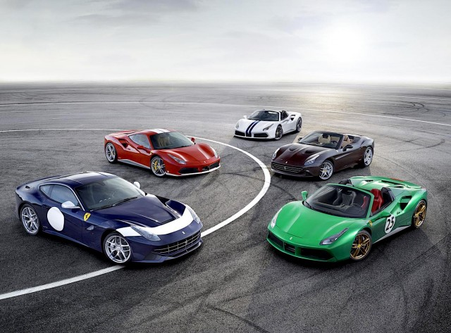Ferrari celebrating 70th anniversary with series of events. Image by Ferrari.