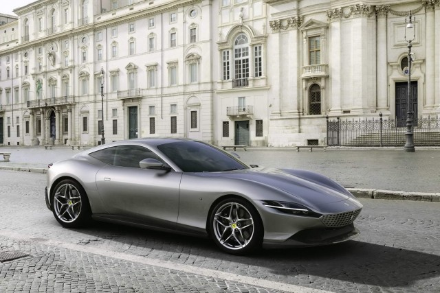 Ferrari Roma coupe revealed. Image by Ferrari.