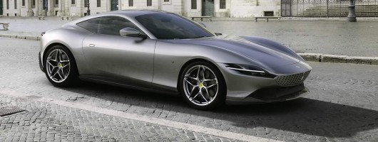 Ferrari Roma coupe revealed. Image by Ferrari.