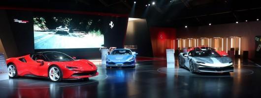 Universo Ferrari opens its doors. Image by Ferrari.