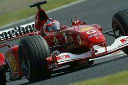 Rubens Barrichello, Ferrari, 2nd place. Image by Shell. Click here for a larger image.