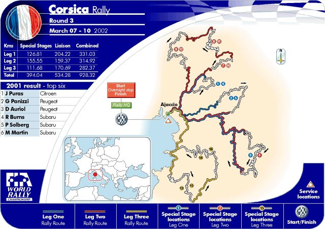 IntAdac Rallye Deutschland Review The Car Enthusiast - Wrc sweden 2015 map
