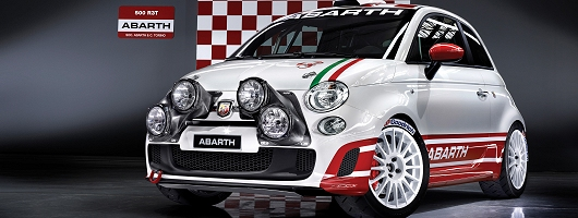 Abarth R3Turns to rallying. Image by Abarth.