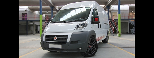 Ducato gets Abarth'd. Image by Abarth.