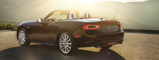 2016 Fiat 124 Spider. Image by Fiat.