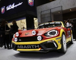 2016 Abarth 124 Rally. Image by Abarth.
