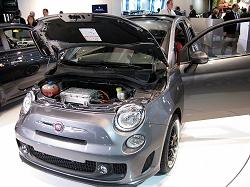 2010 Fiat 500 EV concept. Image by Mark Nichol.