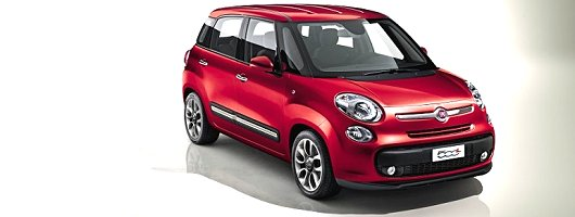 Fiat 500L to debut in Geneva. Image by Fiat.
