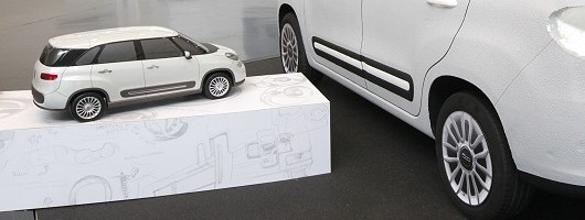 Fiat confirms new seven-seat 500L. Image by Fiat.