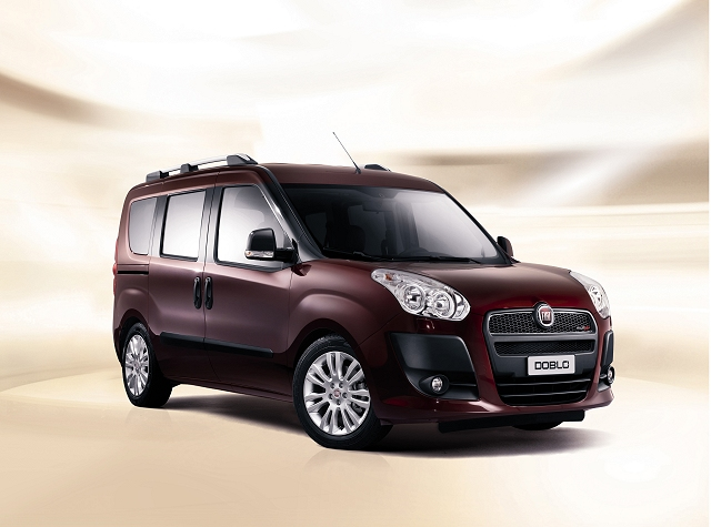 Fiat introduces new Doblo. Image by Fiat.