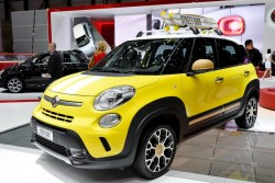 2014 Fiat at Geneva. Image by Newspress.