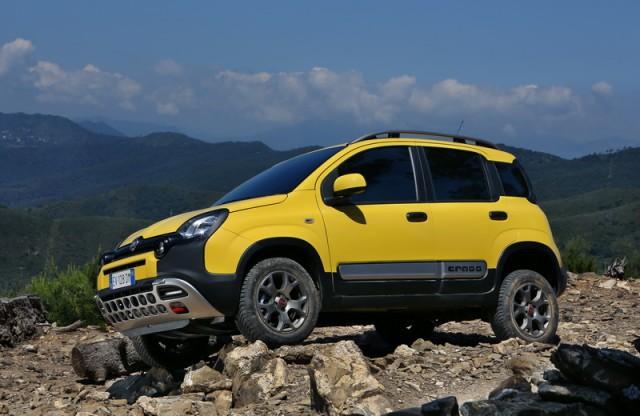 First drive: Fiat Panda Cross. Image by Fiat.